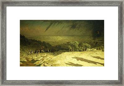 Golgotha Framed Print by Jean Leon Gerome