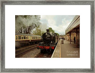 Goliath The Engine And Anna Framed Print