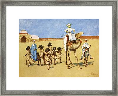 Gollywogs Of The Desert, From The Light Framed Print by Lance Thackeray