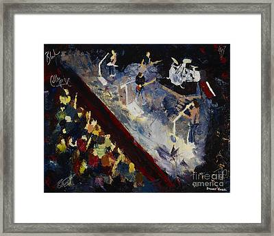 Framed Print featuring the painting Gomez by Stuart Engel