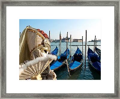 Gondola Framed Print by Neven Milinkovic