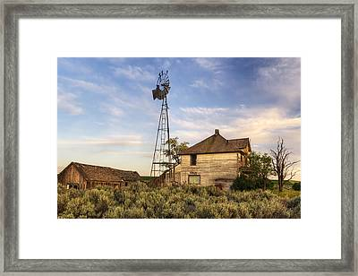 Gone But Not Forgotten Framed Print by Mark Kiver