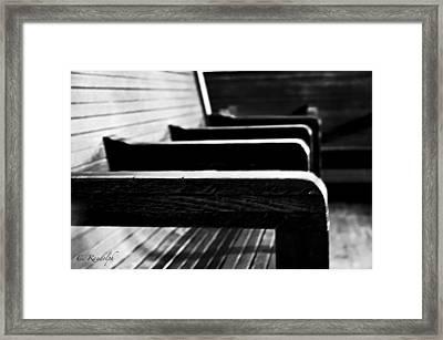 Gone Framed Print by Cheri Randolph