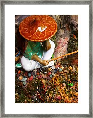 Gone Fishin' Framed Print by Kara  Stewart