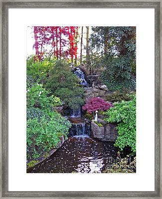 Gone Fishing. Keukenhof Gardens. Holland Framed Print