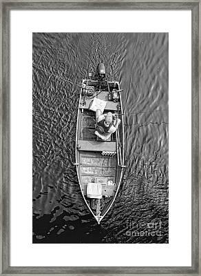 Gone Fishing  Framed Print by Lee Dos Santos