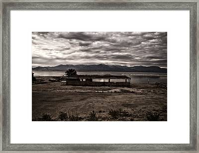 Gone Fishing Framed Print