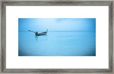 Gone Fishing Framed Print by Shari Mattox