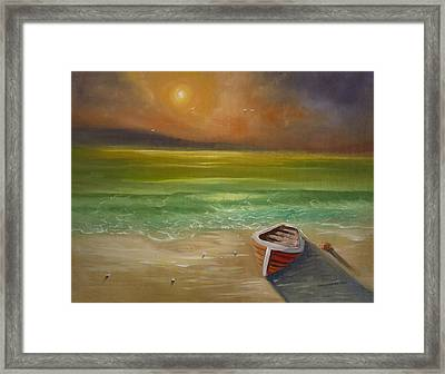 Gone For The Weekend Framed Print