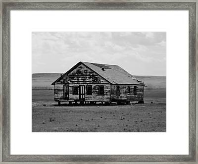 Gone. Framed Print
