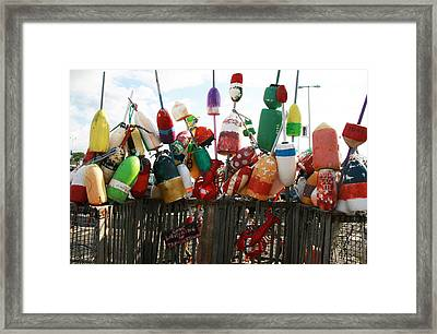 Gone Lobstering Framed Print