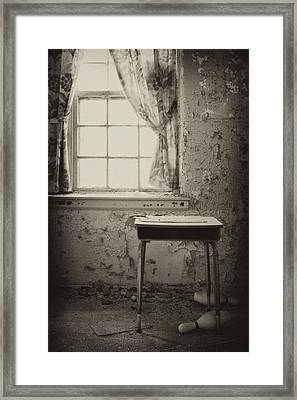Gone Framed Print by Rebecca Skinner