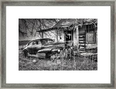Gone To Hell Framed Print