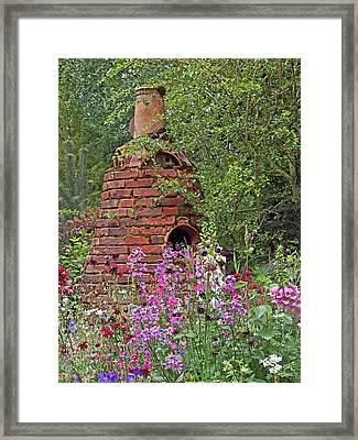 Gone To Pot - The Potter's Flower Garden Framed Print by Gill Billington