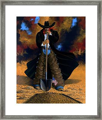 Gone Too Soon Framed Print by Lance Headlee