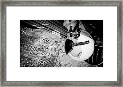 Gone Upside Down A Self Portrait Framed Print