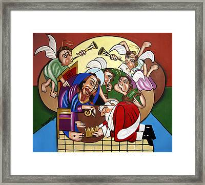 Good And Faithful Servant Framed Print by Anthony Falbo