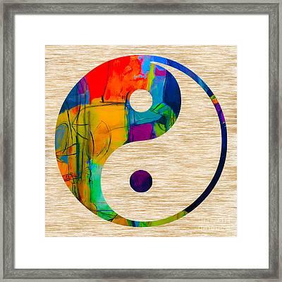 Good Balance Framed Print