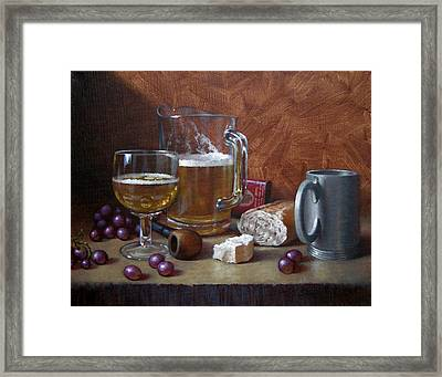 Good Company Framed Print by Timothy Jones