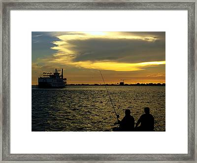 Good Day Fishing Framed Print