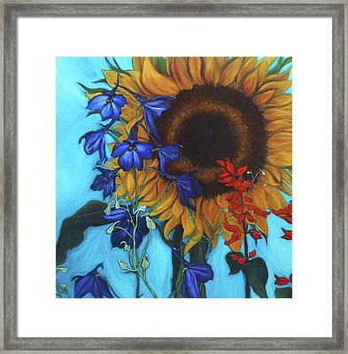 Good Day Sunshine Framed Print by Andrea LaHue