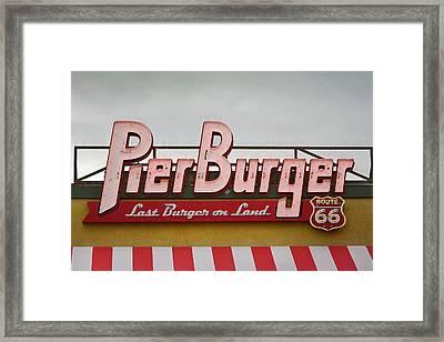 Good Eats Framed Print