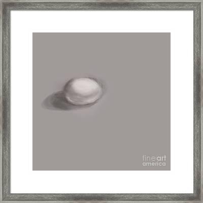 Good Egg Framed Print