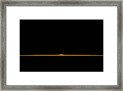 Good Evening Framed Print by Carlos Vieira