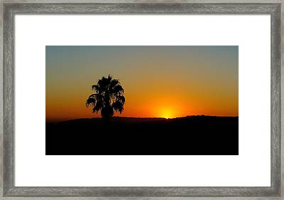 Good Evening Los Angeles Framed Print