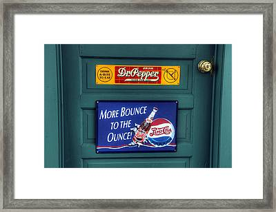 Good For Life Or More Bounce? Framed Print by David Simons