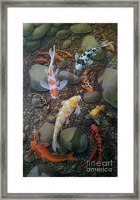Good Fortune Framed Print by Gene Gregorio