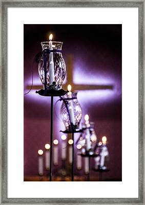 Framed Print featuring the photograph Good Friday by Cathy Donohoue