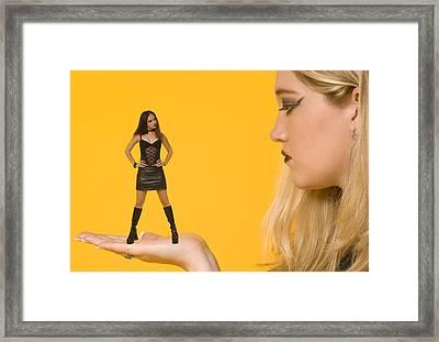 Good Girl Framed Print by Bob Pardue