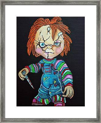 Good Guy Doll Framed Print