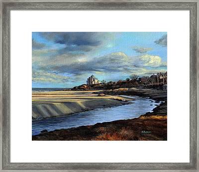 Good Harbor Beach Gloucester Framed Print