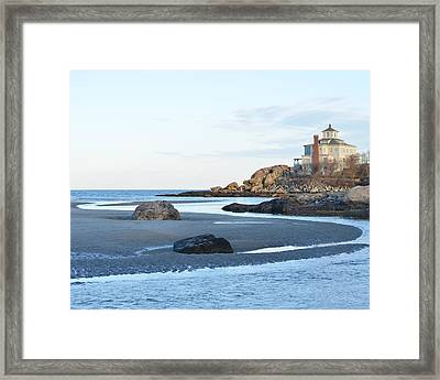 Good Harbor Beach Framed Print