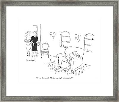 Good Heavens! My Lovely Little Miniatures! Framed Print