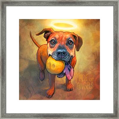 Good Karma Framed Print