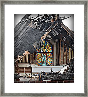 Good Lord Framed Print by Ally  White