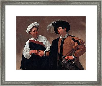 Good Luck Framed Print by Caravaggio