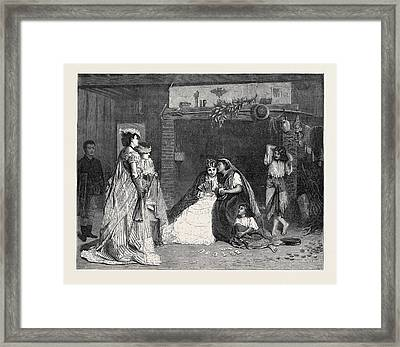 Good Luck, In The International Exhibition 1871 Framed Print