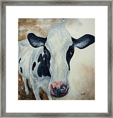 Good Mooo To Youuu Framed Print