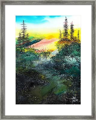 Good Morning 3 Framed Print by Anil Nene