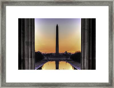 Good Morning America Framed Print