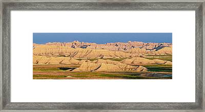 Framed Print featuring the photograph Good Morning Badlands I by Patti Deters