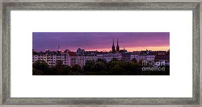 Good Morning Berlin Framed Print