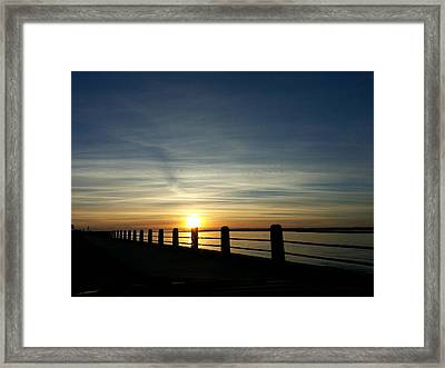 Good Morning Carolina Framed Print