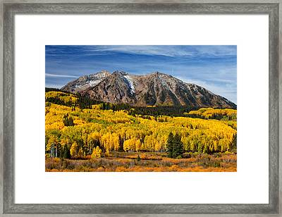Good Morning Colorado Framed Print by Darren  White