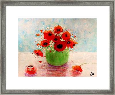 Good Morning.. Framed Print
