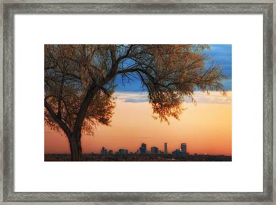 Good Morning Denver Framed Print